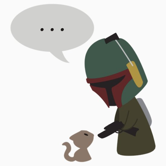 TShirtGifter presents: Boba Fett and the Kitty