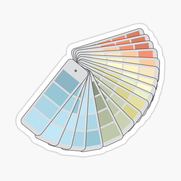 Paint Swatches Sticker
