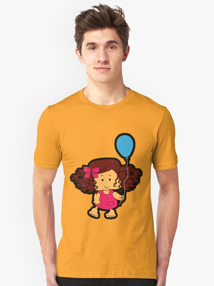 My blue balloon... Unisex T-Shirt Front
