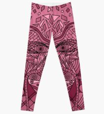 58 Fragmented mind - Rose Leggings