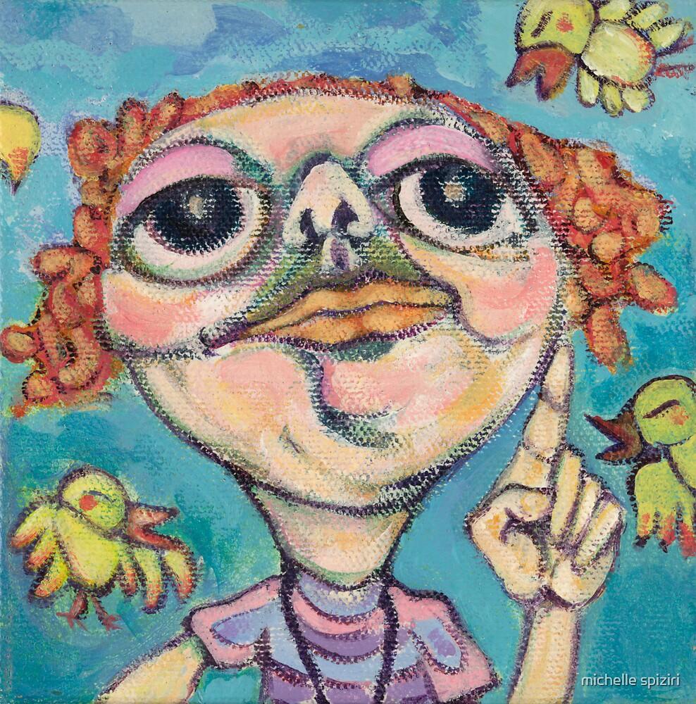 Bird Watcher by michelle spiziri
