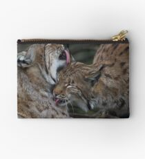 Caring for each other Zipper Pouch