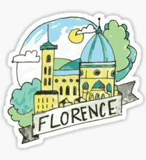 Florence Italy Sticker
