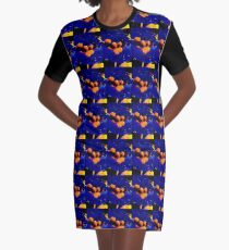 """The Blue Martini"" Original Photography by Tony DuPuis  Graphic T-Shirt Dress"