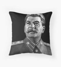 Josef Stalin Throw Pillow