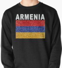 Armenia Flag High Detail Artistic Pullover