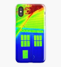 T.A.R.D.I.S. Rainbow iPhone Case