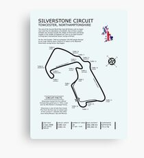 The Silverstone Circuit Canvas Print