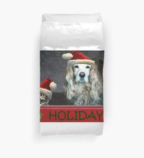 Happy Holidays!! Duvet Cover