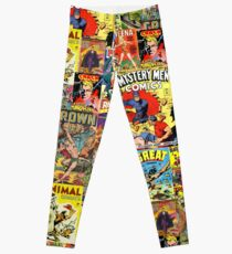 Vintage Comic Covers No. 2 Leggings