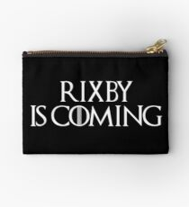 Rixby is Coming in Black Studio Pouch