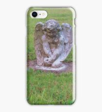 Pouting angel iPhone Case/Skin