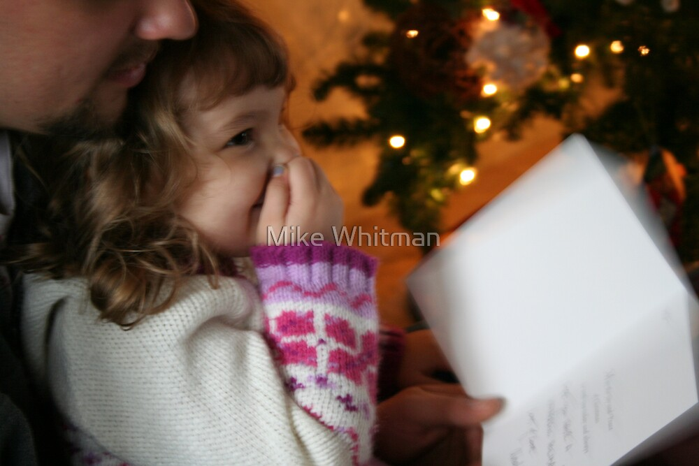 Christmas Morning Joy by Mike Whitman