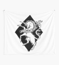 unicorn armory Wall Tapestry