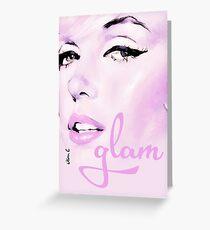 glam 02 Greeting Card