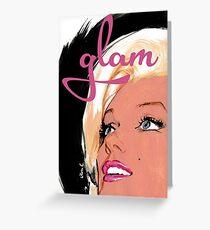 glam 03 Greeting Card