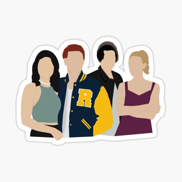Personajes de Riverdale Pegatina