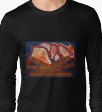 dark knight mystic fire Long Sleeve T-Shirt