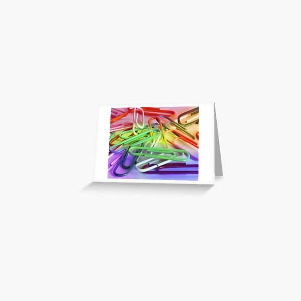 Paperclips Greeting Card