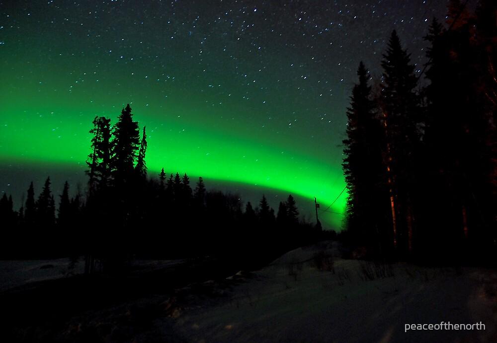Sandra's Auroras by peaceofthenorth