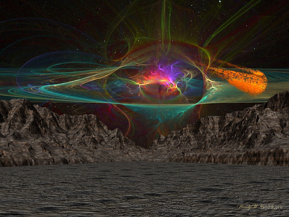 Asteroid Vally 3 by Sazzart
