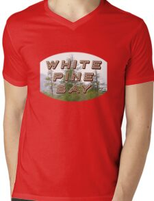 "Bates Motel ""White Pine Bay"" Mens V-Neck T-Shirt"