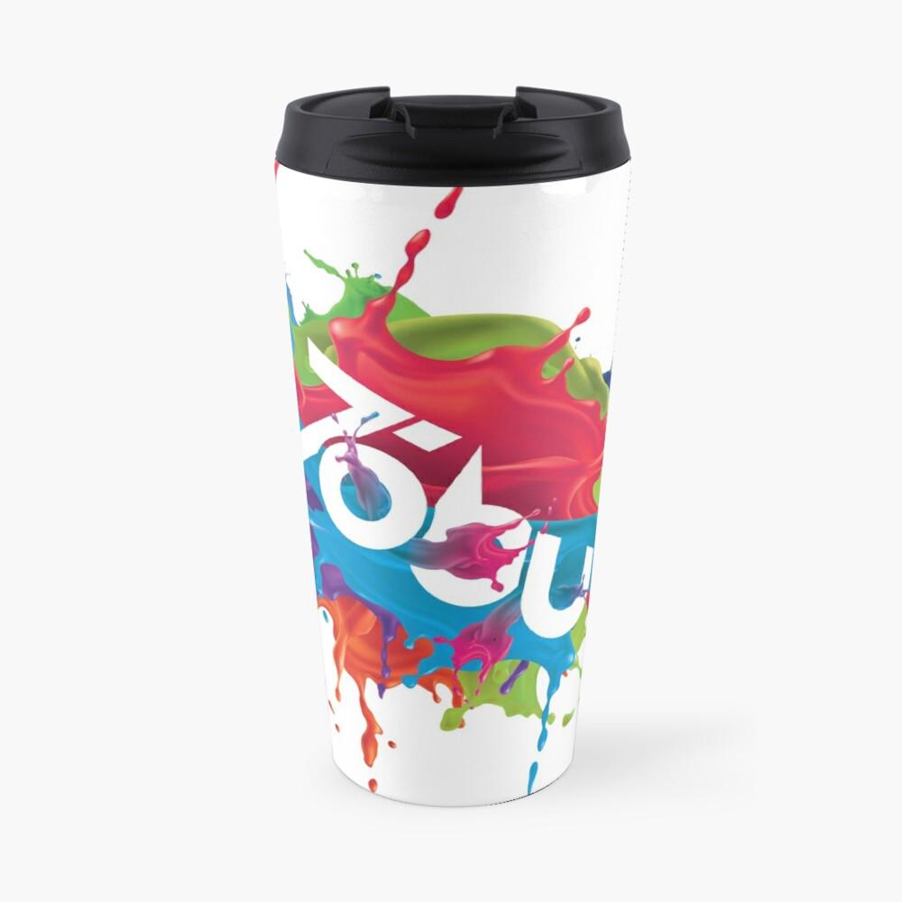 Colorful Tobu Splash Travel Mug