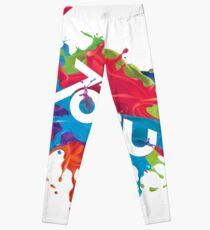 Colorful Tobu Splash Leggings
