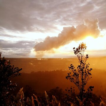 View Of Kilauea by TheLoner