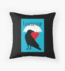 Vancouver Love Throw Pillow