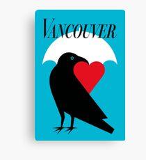 Vancouver Love Canvas Print