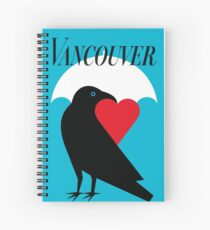 Vancouver Love Spiral Notebook