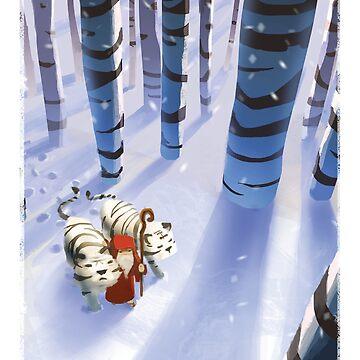 Noah and Tigers by JuliaBlattman