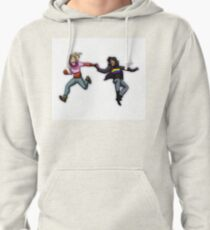 Holiday Floaty|Kelley and Leah Pullover Hoodie