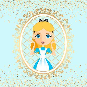 Fantastic Alice Portrait by LythiumArt