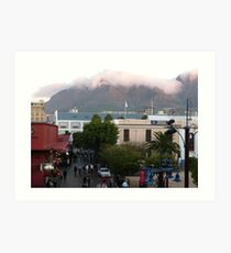 Downtown Capetown, South Africa Art Print