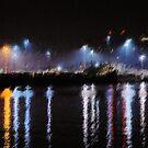 Harbor Lights by Bob Wall