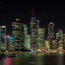Brisbane Lights by Keith G. Hawley