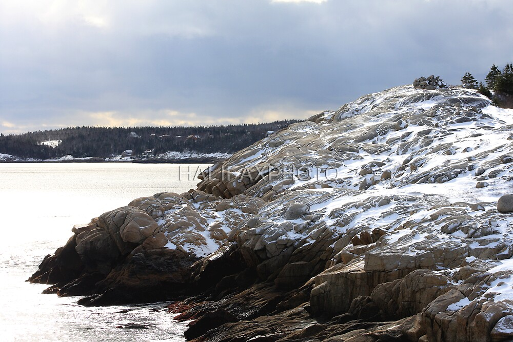 Winter Cliffs by HALIFAXPHOTO