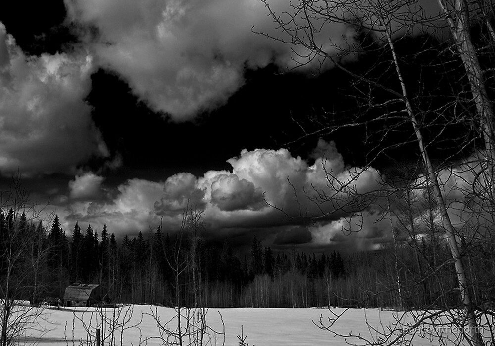 Barnyard in IR by peaceofthenorth