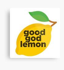 Good God Lemon Sticker & T-Shirt - Gift For TV Lover Metal Print