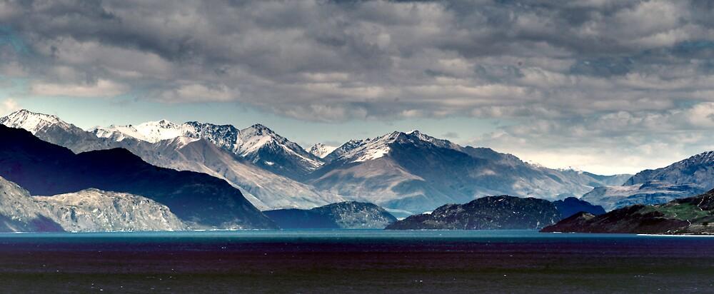 New Zealand's mountains by Dóra  Varga Lencsés