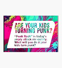 Punk Rock? Photographic Print