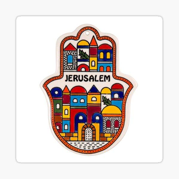 Jerusalem Sticker