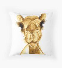 Hello Mr Camel Throw Pillow
