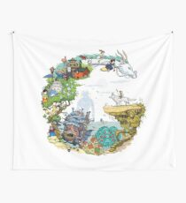 Tribute Color (with caption) Wall Tapestry