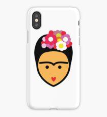 Frida Kahlo Vector iPhone Case