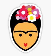 Frida Kahlo Vector Sticker