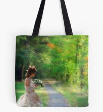 Looking back to the past! Tote Bag