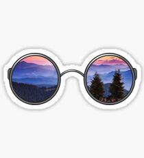 Pegatina Gafas de sol de árbol